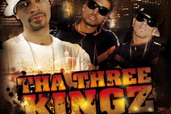 AG & 950Plus - Tha Three Kingz - Hiphop Mixtape - The Ave Records - Cover Art