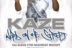 KAZE POSTER WordOnTheStreet Mixtape Ad