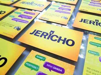 JERICHO Business Cards - Graphic Design