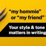 What does your writing style say about you? The best way to establish your tone is using vocabulary that creates the tone. Expanding your vocabulary will make writing get easier. JERICHO helps you with that!