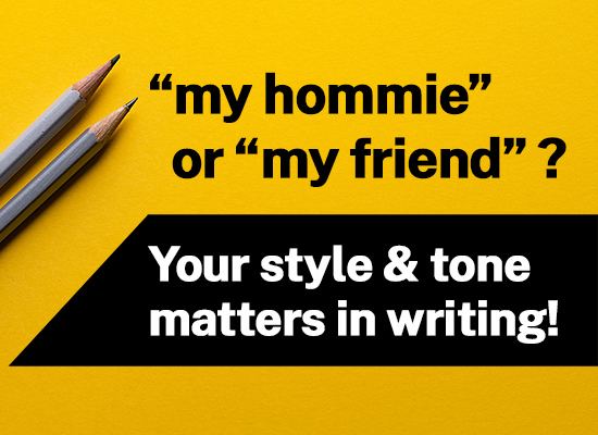 What does your writing style say about you?