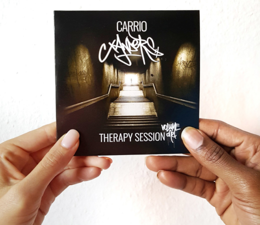 Carrio Xanders – Cover Art Design – Therapy Session Vol. 1