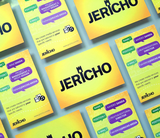 JERICHO Business Card Design