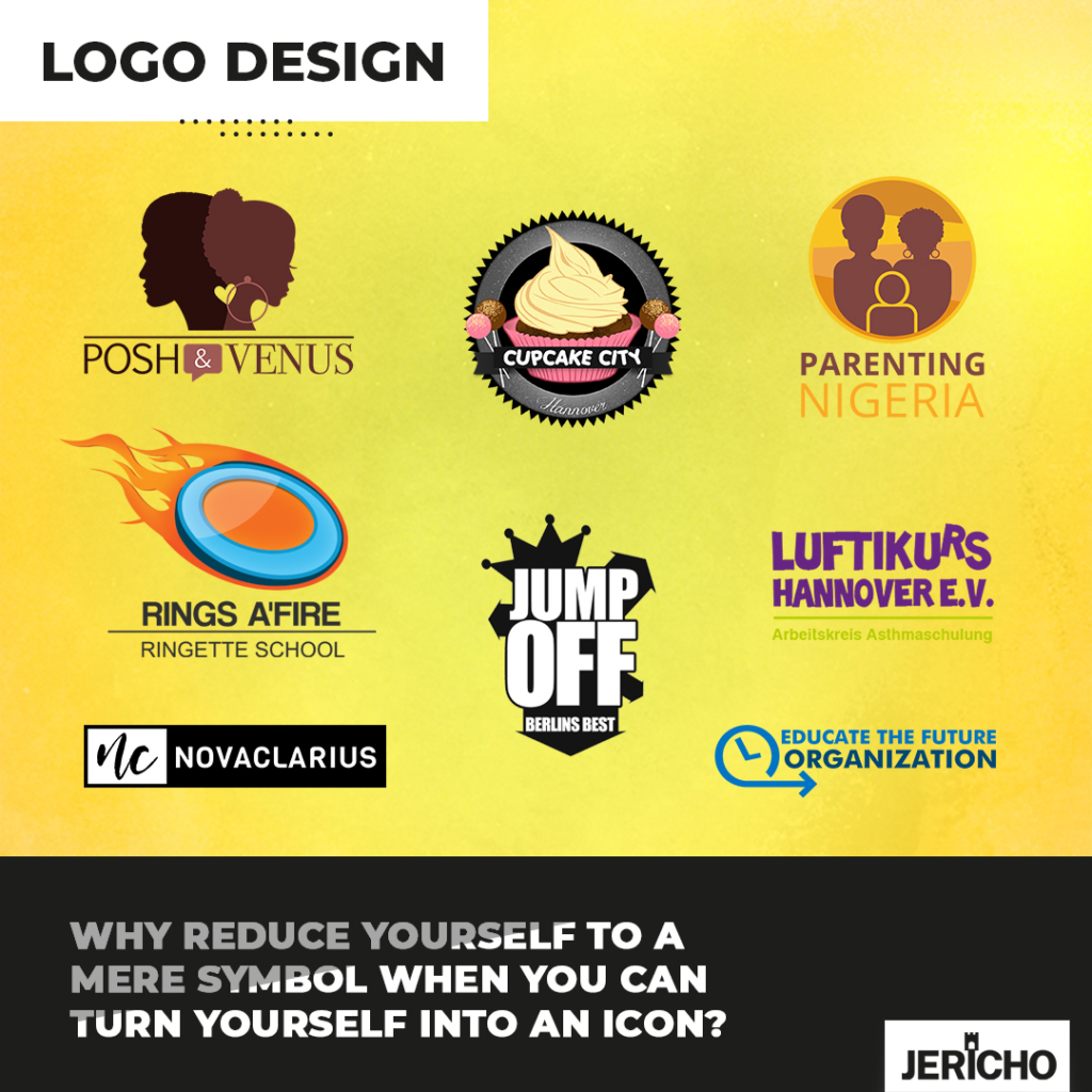 Give your brand a facelift with JERICHO - media design - branding - logo design - webdesign - translation - campaigns and more