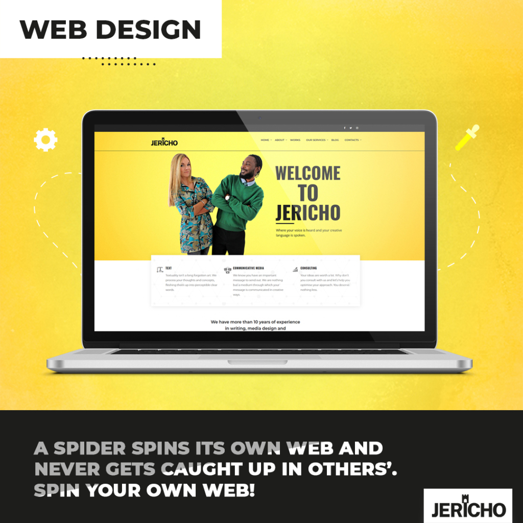 Give your brand a facelift with JERICHO - media design - branding - logo design - webdesign - translation - campaigns - product design - voiceovers - sound design - cover art for music artists and more